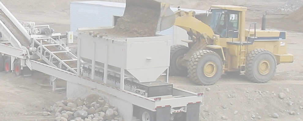 Aggregate Mining Equipment
